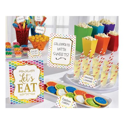 Rainbow Buffet kit