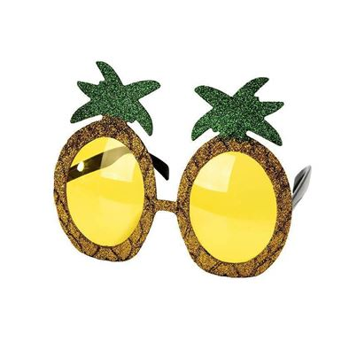 Tropical Glitter Pineapple Sunglasses