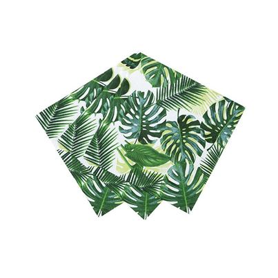 Talking Tables Tropical Palm Napkins