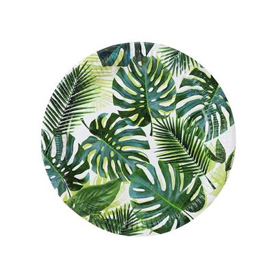 Tropical Palm Plates 8pk