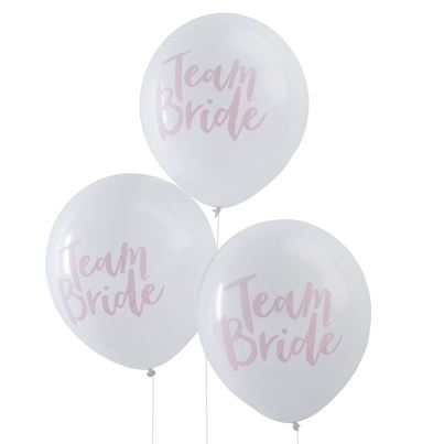 Ginger Ray Team Bride 6pk With Helium