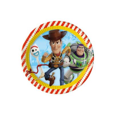 Toy Story 4 Plates 8pk