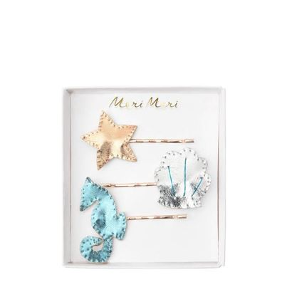 Under-The-Sea Hairslides 3pk