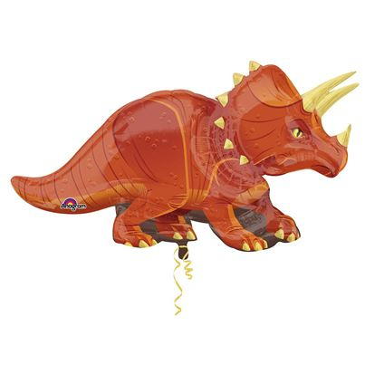 Triceratops Jumbo Supershape Balloon