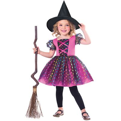 Amscan Rainbow Witch Childs' Costume