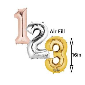 view DIY Airfill Numbers and Letters products