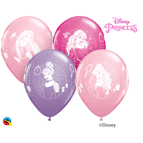Disney Princesses 6pk INFLATED