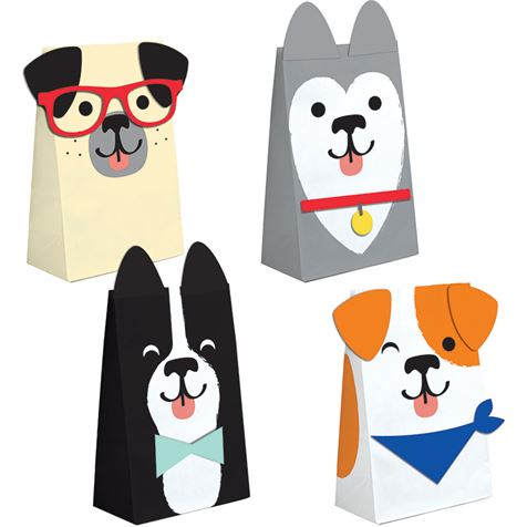Dog Themed Paper Bags