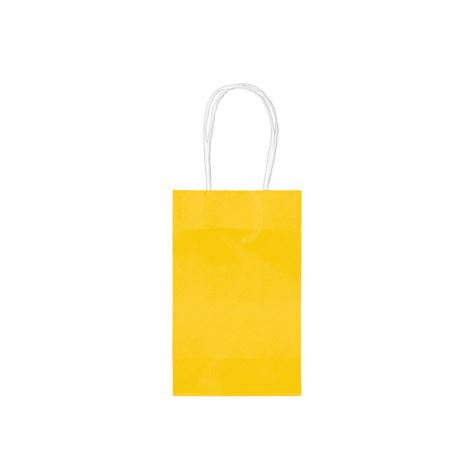 Yellow Party Bags 10pk