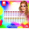 additional image for Rainbow Face Jewels 100pc