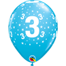 additional image for Age 3 Tropical 6pk with Helium