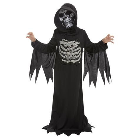 Skeleton Reaper Child's Costume