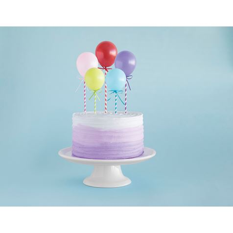 Superb Balloon Cake Toppers Funny Birthday Cards Online Alyptdamsfinfo