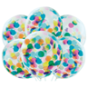 additional image for Multicolour Confetti Balloons