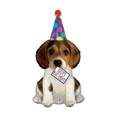 Birthday Puppy Supershape