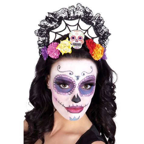Calavera Crown Tiara
