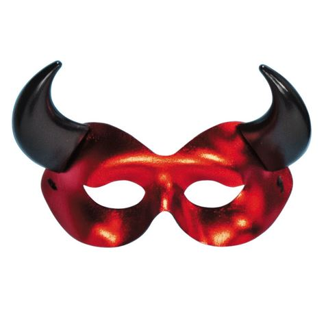 Metallic Red Eye Mask