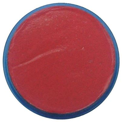Bright Red Face Paint Disc