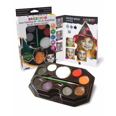 Amscan Halloween Face Painting Kit