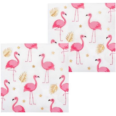 Flamingo Tropic Napkins 12pk