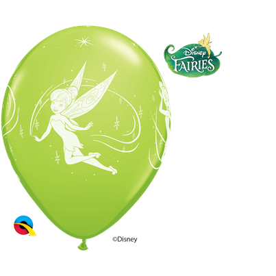 Tinkerbell Lime Green 6pk