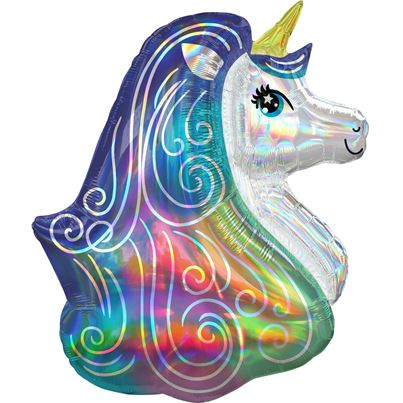 Holographic Unicorn Supershape