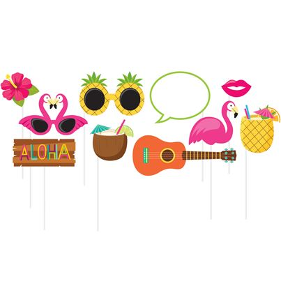 Creative Party Hawaiian Photo Props