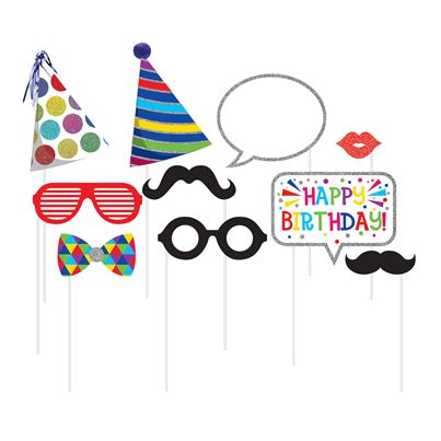 Creative Party Happy Birthday Photo Props