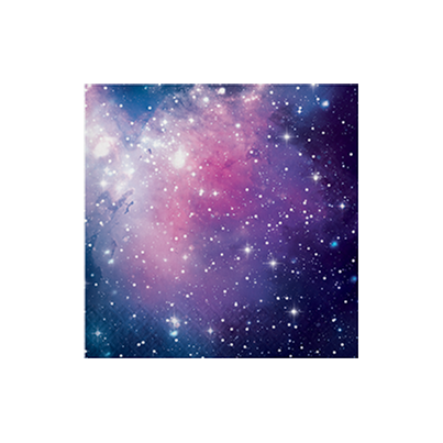 PartyDeco Galaxy Paper Napkins 16pk