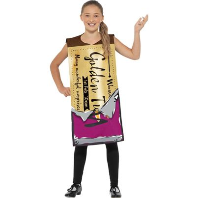 Winning Wonka Bar Costume