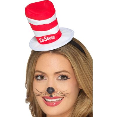 Cat in the Hat Mini Hat