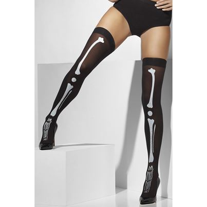 Smiffys Opaque Black Hold-ups