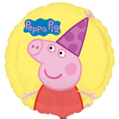 Peppa Pig Party Circle Balloon
