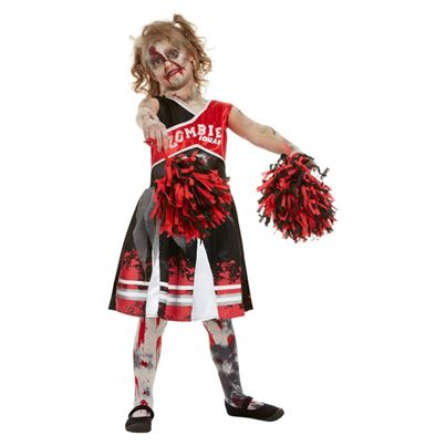 Smiffys Zombie Cheerleader Child's Costume