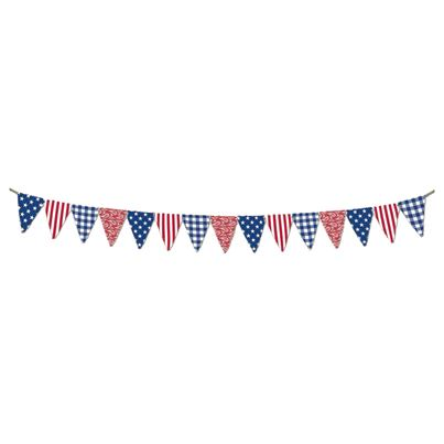 Amscan Fabric Pennant Banner