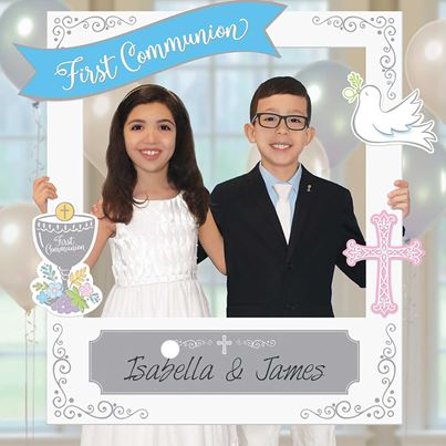 Amscan First Communion Photo Frame