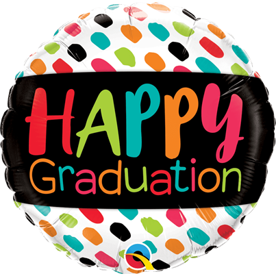 Qualatex Happy Graduation Foil