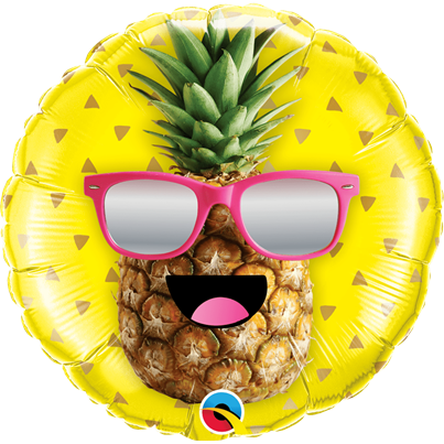 Qualatex Cool Smiley Pineapple