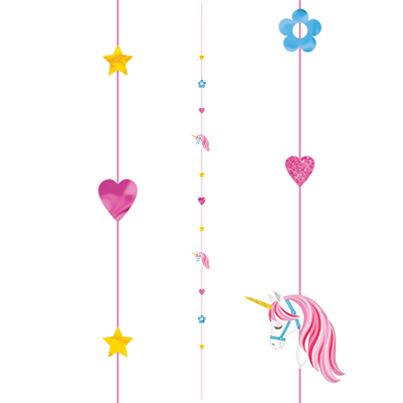 Amscan Unicorn Balloon String
