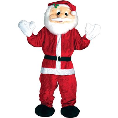 Wicked Giant Deluxe Santa Claus Mascot