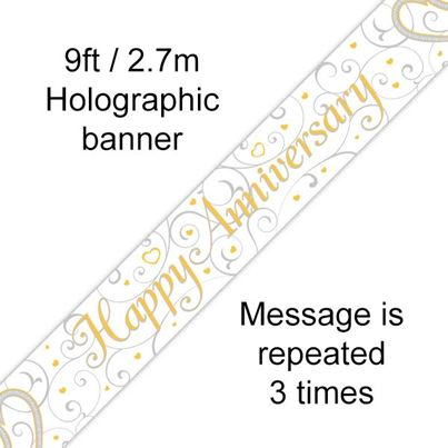 Oaktree Happy Anniversary Banner