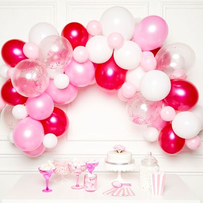Amscan Pink Mix Balloon Garland Kit