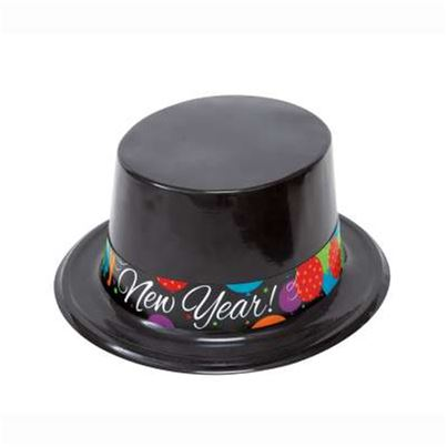 Unique Happy New Year Top Hat