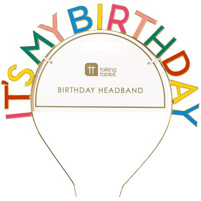 'It's My Birthday' Luxe Headband