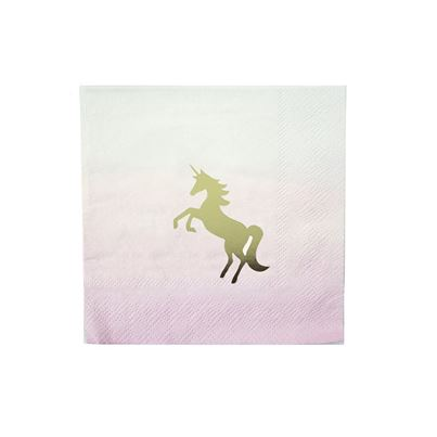 Unicorn Cocktail Napkin
