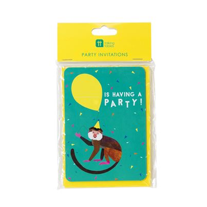 Animal Party Invitations