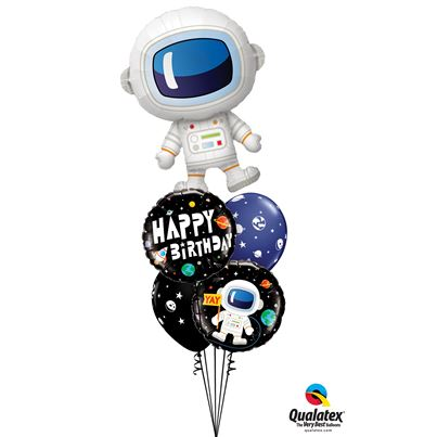 Qualatex Over The Moon Birthday Bunch