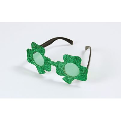 Bristol Novelty Shamrock Glasses