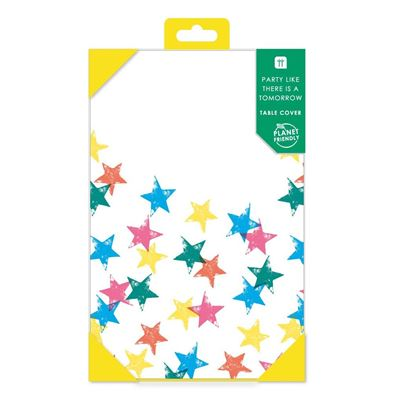 Talking Tables Planet-Friendly Rainbow Stars Tablecover