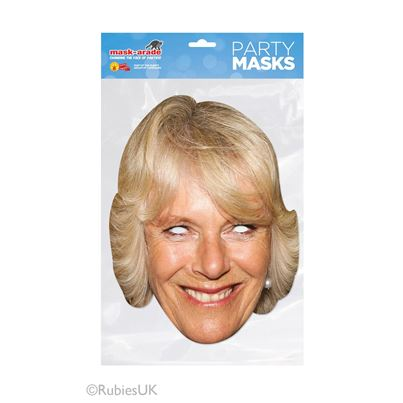Camilla Parker-Bowles Face Mask